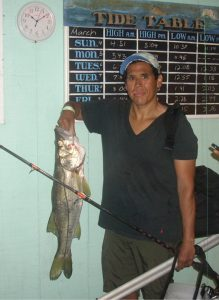 Jose with a Keeper Snook
