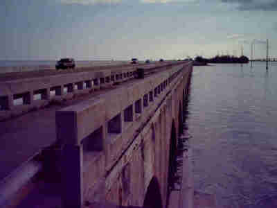Channel two bridge Islamorada Craig key Key West