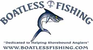 Boatless Fishing Logo